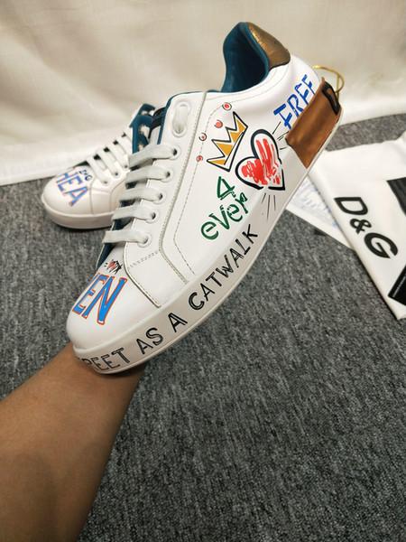 2019r nuevos zapatos casuales al aire libre para hombres de lujo de gama alta, zapatillas bajas tendencia wild, empaque original, tamaño: 38-44