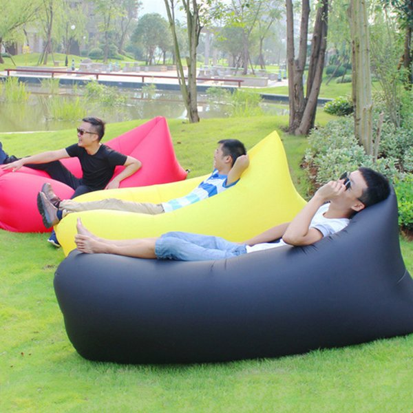 Pleasing New Design Camping Mat Ultralight Lazy Sofa Inflatable Air Sofa Beach Bed Lounge Lazy Bag Mattress Sleeping Bed Lounger Air Outdoor Chair Cushions Pabps2019 Chair Design Images Pabps2019Com