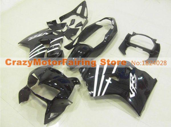 New ABS mold Fairing Fit For Honda 1998 1999 2000 2001 VFR800 98 99 00 01 VFR 800 Blackbird Motorcycle Fairings set custom black
