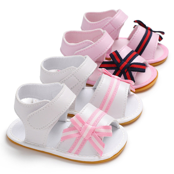 Baby Girls Shoes Summer Canvas Infant Kids Boys Soft Sole Crib Newborn Sandals Shoes Footwear for Babies Boys Sandals