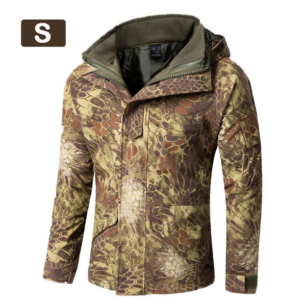 Men's Jacket Thickened Fleece Lined Liner Warm Waterproof Windproof Trench Coat Casual Wool Trench Coat Fashion Business Long