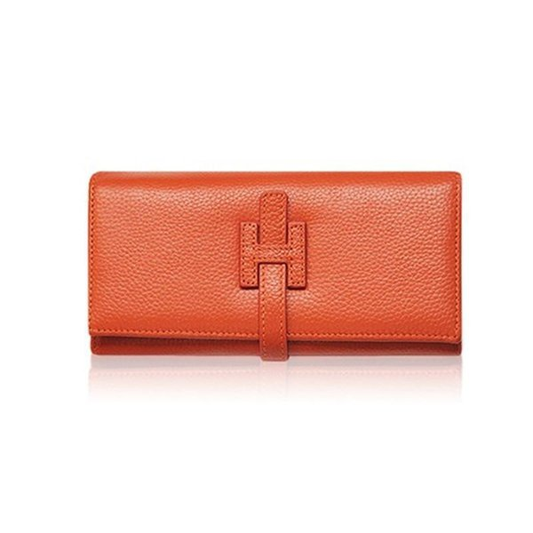 Wholesale- Designer Wallets Famous Brand Women Wallet Nice Luxury Female Wallet Genuine Leather Lady Purse Money Bag Red Wallet Skull