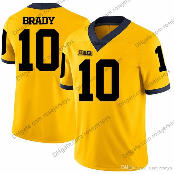 10 Tom Brady Giallo