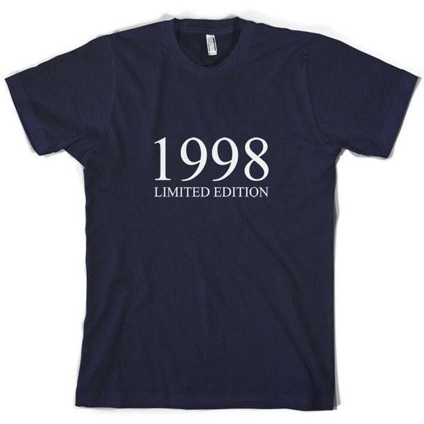 1998 Limited Edition - Mens 16th Birthday Present / Gift T-Shirt - 10 Colours