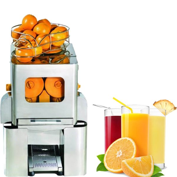 BEIJAMEI 2000E-5 Free shipping commerical orange lemon juice press extractor automatic fruit citrus juicing making machine