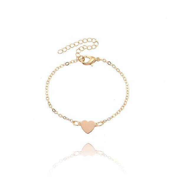 14k Yellow Gold 4.1mm Semi-Solid Anchor Chain Bracelet Diamond2Deal 1043-7