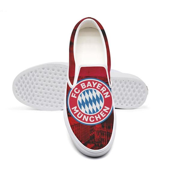 Großhandel FC Bayern München Der FCB Die Bayern FC Hollywood Rot CityMens Lässige, Rutschfeste Sportschuhe Entwerfen Nur Niedliche Hüftschuhe Von