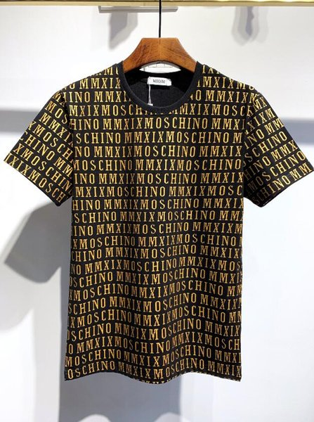 Donne nuove magliette degli uomini di moda di lusso vestiti manica corta estate disegno classico di stampa dei vestiti unisex maglietta casuale 06