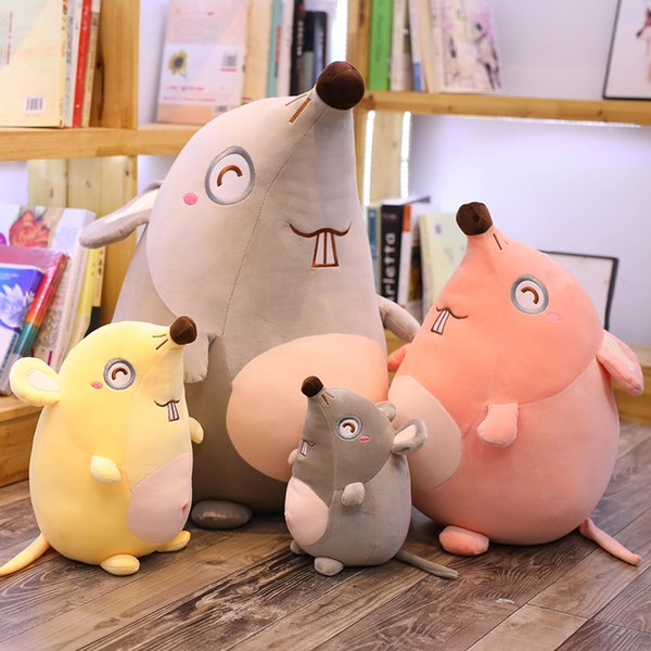 22-60cm Mouse Yellow Stuffed Animal Plush Toys Pillow Car Decoration Cute Valentine's Day Gifts Hot Toys New Arrvial Free Shipping