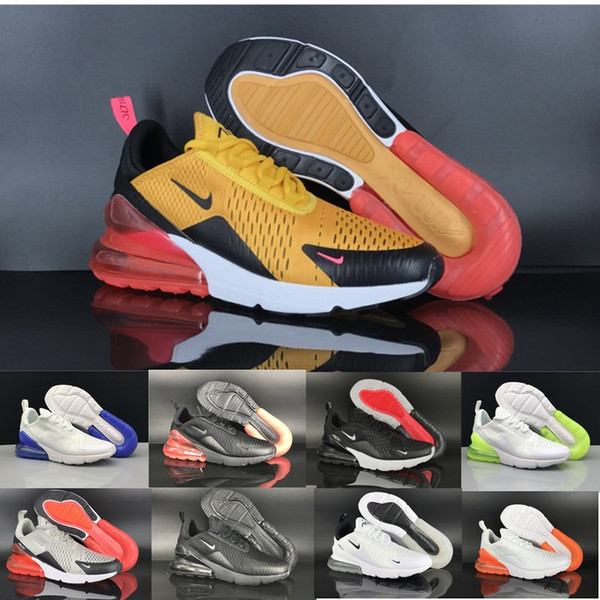 Acheter Nike Air Max Airmax 270 2020 New Hot Punch Parra Photo Bleu Hommes Femmes Chaussures Triple Université Blanc Rouge Olive Volt Habanero Flair