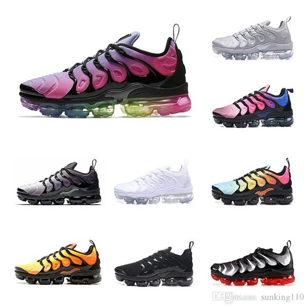 nike Vapormax Tn plus air max airmax 2019 TN Artı Oyunu Kraliyet turuncu ABD Mandalina nane Üzüm Volt Hyper Violet eğitmenler Spor Sneaker Erkek kadın Tasarımcı koşu ayakkabı