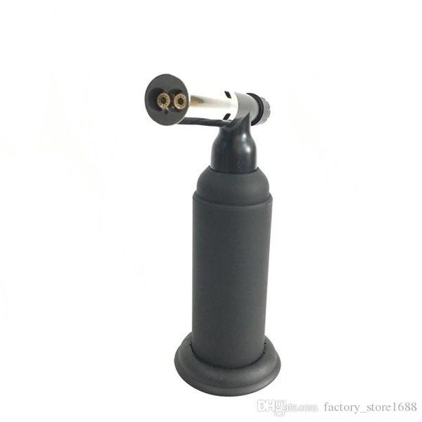 XXL 1300C Butane Scorch torch dual flame torch kitchen lighter Giant Heavy Duty Butane Refillable spray gun Culinary Torch with gift box
