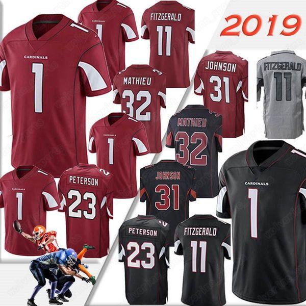 super popular 84a06 a60e1 2019 Arizona Jerseys Cardinals 1 Kyler Murray 11 Larry Fitzgerald 31 David  Johnson 23 Adrian Peterson Miami Jersey Dolphins 3 Josh Rosen 2019 From ...