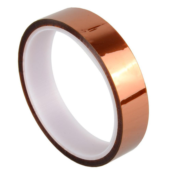 best selling Kapton Tape Sticky High Temperature Heat Resistant Polyimide 25mm,50mm,10mm,20mm,30M OST