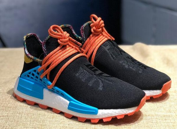 new 2019 human race hu inspiration pack outdoor shoes basf bottom pharrell williams trainer sneakers ing