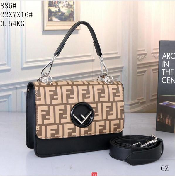 2019 Design Handbag Ladies Brand Totes Clutch Bag High Qukm4kality Classic Shoulder Bags Fashion Leather Hand Bags D000612