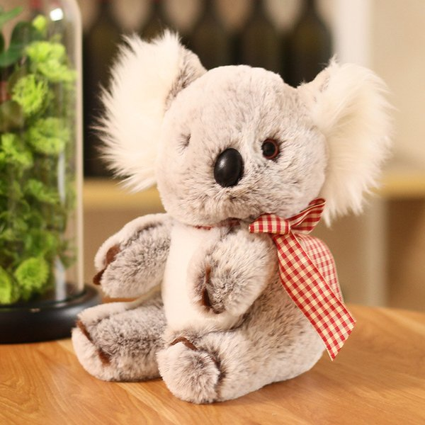 Simulation scarf koala plush toys send girls birthday gifts cute koala dolls wholesale gifts boutique 03