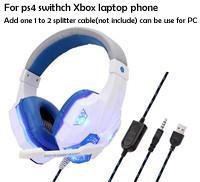 P4 headset_white
