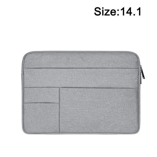 Sac pour ordinateur portable pour ordinateur portable Multifonctionnel Protecteur Portable Sac à main antichoc Zipper PC Oxford Tissu Imperméable