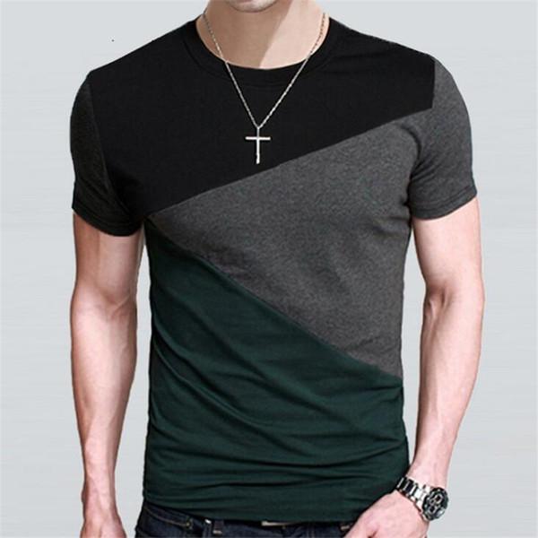 Designs Mens T Shirt Slim Fit Crew Neck T-shirt Men Short Sleeve Shirt Casual tshirt Tee Tops Mens Short Shirt Size M-5XL