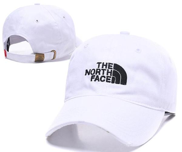 2019 Tasarımcılar Erkek beyzbol Yeni Marka Kuzey Şapkalar Altın İşlemeli Yüz kemik Erkekler Kadınlar casquette Şapka Gorras Sport Cap Drop Shipping Caps