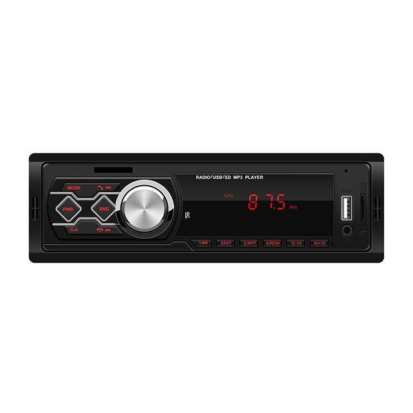 12V Bluetooth actualizado Car Audio estéreo FM Pantalla LED Receptor auxiliar TF USB Reproductor de radio MP3 Radio autoradio con control remoto