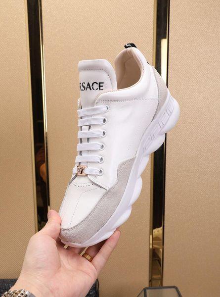 2019K nuove scarpe da uomo di marca personalizzati casual, calzature sportive da uomo traspirante, scarpe da uomo eleganti e confortevoli, l'imballaggio scatola originale