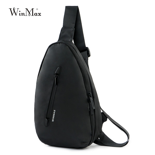 Winmax New Running Chest Bag Waterproof Outdoor Sport Bags Travel Shoulder Pack Sling Backpack Pouch Camping Hiking Bicycle Bag