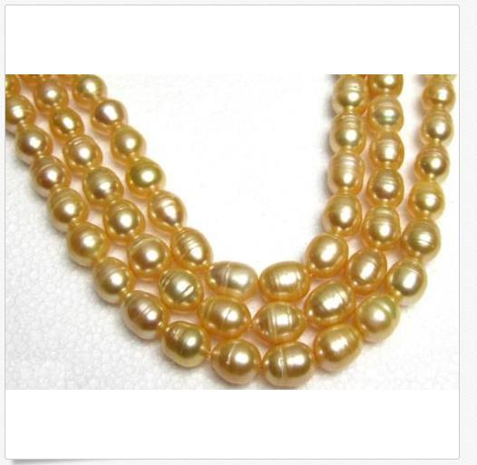 35 INCH HOT HUGE 13MM NATURAL SOUTH SEA GOLDEN PEARL NECKLACE 14K GOLD CLASP