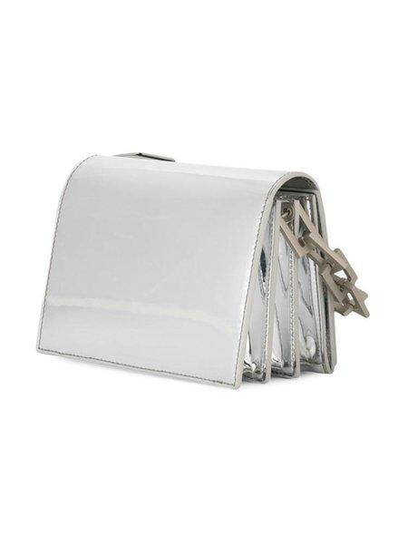 Fashion Organ White Clip Bag Shoulder Bag Crossbody Bag Woman High Quality HFBYBB101