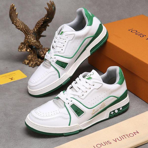 Men Shoes Fashion Footwears Chaussures pour hommes Original Box Trainer Sneaker Exclusive Online Men Shoes Casual Low-Top Design Fast Ship