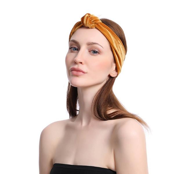Nó em cruz Esporte Headband Sob o Suor Wicking Stretchy Atlético Bandana Headscarf Yoga Headband Cabeça Envoltório Melhor para o Exercício de Esportes