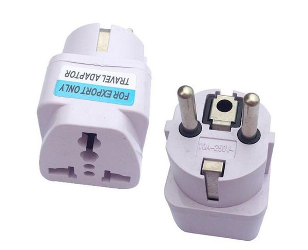 best selling Universal 2 Pin AC Power Electrical Plug Adaptor Converter Travel Power Charger UK US AU To EU Plug Adapter Socket 180