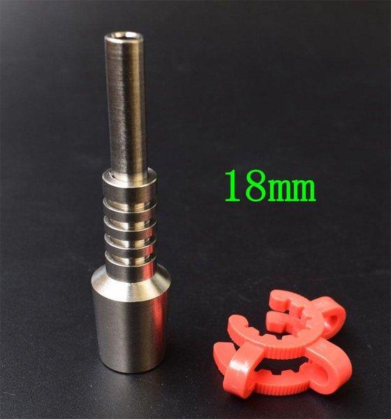 Punta de titanio de 18 mm + clip de 18 mm