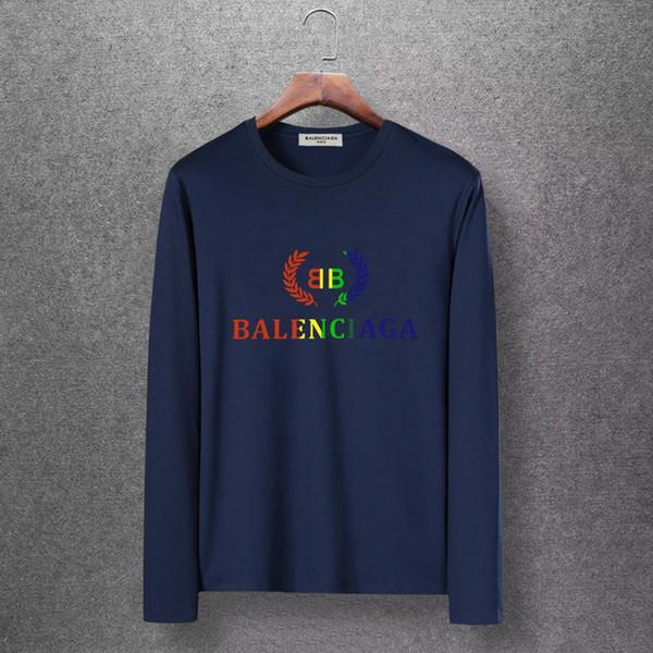 Uomo per maglione Abbigliamento da uomo firmati 2019 Maglione dolcevita a manica lunga con ricamo a lettere colorate in autunno e inverno