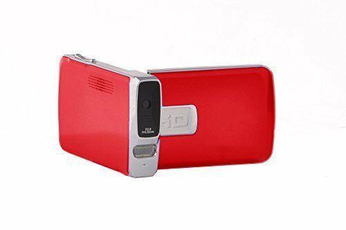 iX 2020N Rot - Full HD 1080p Camcorder - Flip Screen für Vlogging