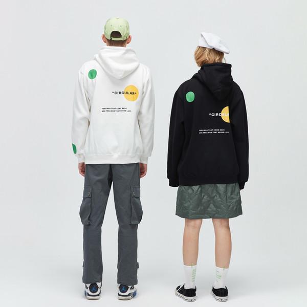 2019 männer frauen neue hoodies designer persönlichkeit gedruckt kapuzenpullover männer frauen explosion pullover luxus hoodie