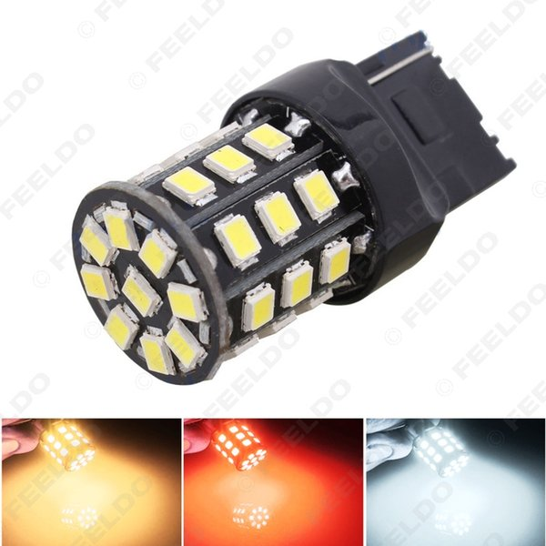 Großhandel T20 7440 33LED 2835smd Auto Bremse Parklicht Blinker Tagfahrlicht LED-Licht 3-Color # 1715