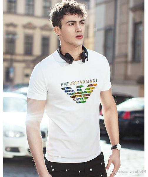 XX дышащий поло мужской новый стиль, высокое качество итальянский дизайн одежды, роскошные модные футболки мужские футболки воротник преступности с короткими