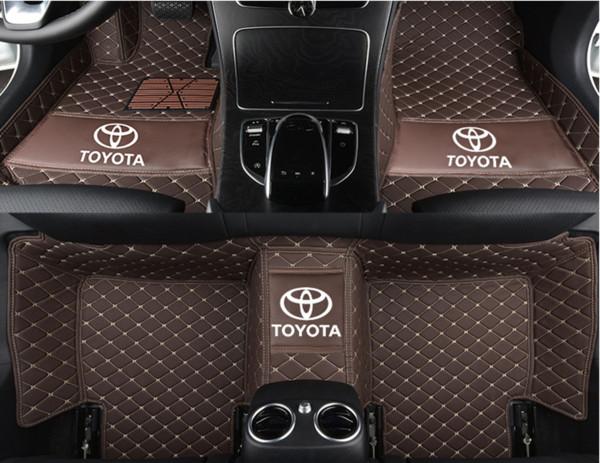 Suitable for Toyota RAV4 five-seat 2006-2008 automotive interior mat non-toxic non-slip anti-slip leather pad