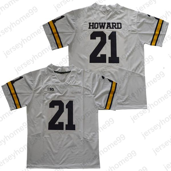 21 Desmond Howard / White