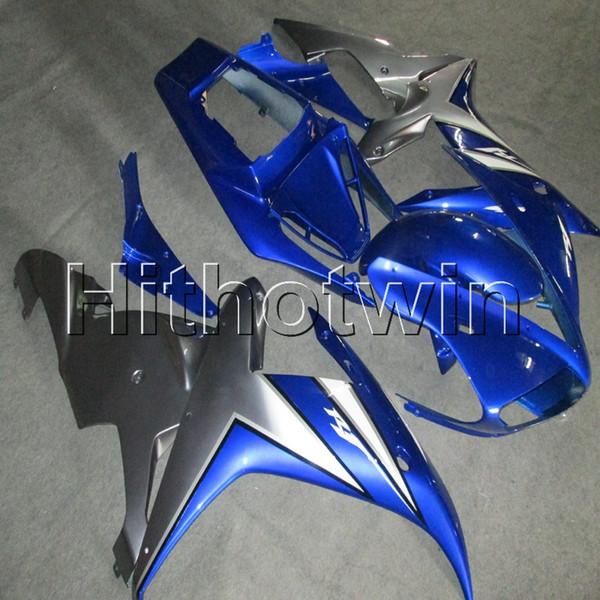 Подарки + винты синий капот мотоцикла для Yamaha YZF-R1 02 03 YZFR1 2002 2003 ABS пластик