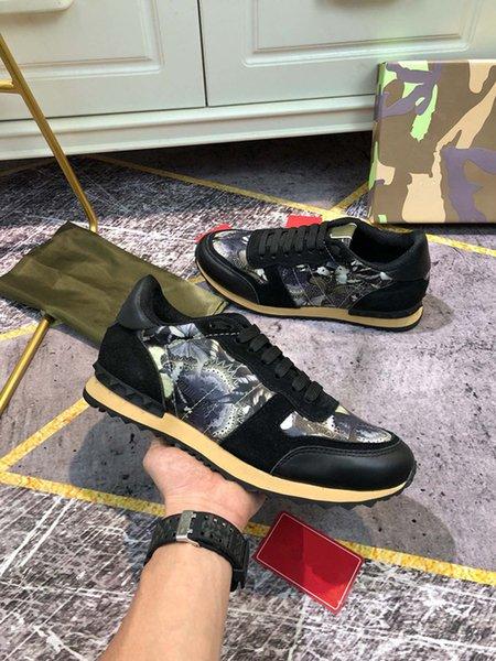 Women men Sneaker colour fashion Luxurys Designers Casual shoes woman Platform Trainers Walking sneakers size 35-46