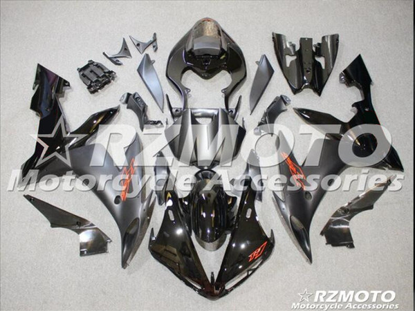 Novos kits Carenagens ABS Molding motocicleta Fit Para Yamaha YZF-1000-R1 2004 2005 2006 04 05 06 carenagem carroçaria definir costume preto
