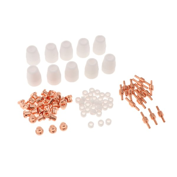 best selling 85Pcs PT-31 LG-40 Air Plasma Cutter Cutting Nozzles Electrode Tip Torch Consumable Kits 40A