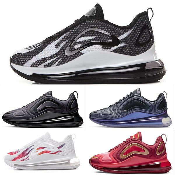 Compre Nike Air Max 720 720 KPU 720s 72C OG Zapatillas Para Correr Northern Lights Night Hombre Mujer Sea Forest Sunset Triple Negro Sunrise