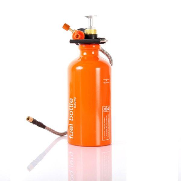 530ml 750ml Outdoor Camping Petrol Bottle Alcohol Liquid Gas Fuel Bottle Storage