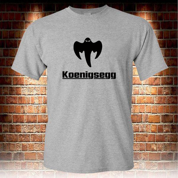 Koenigsegg Fantasma CCX CCXR Tee T-shirt Cinza S para 3XL