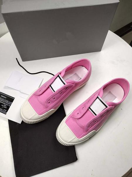 2018 Lüks Tasarımcı Erkekler Rahat Ayakkabılar En Yüksek Kalite Mens Womens Moda Sneakers üst katman deri Ayakkabı Hafif Sneakers om19070304