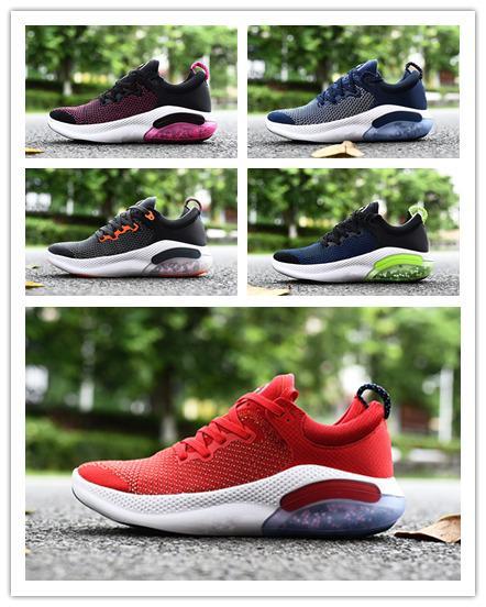 2019 El último diseñador de zapatos deportivos casuales JOYRIDE RUN Zapatos para correr 360 grados Dynamic Shock ligero y cómodo casual Hombres zapatos para correr